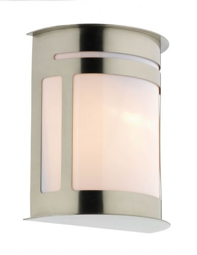 Alumni 1-light Stainless Steel Outdoor Wall Light ALU1644 (082155)